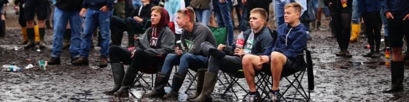 Zwischen Party und Platzregen – der Hurricane-Donnerstag