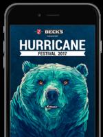 Die 2017er Hurricane-App ist da