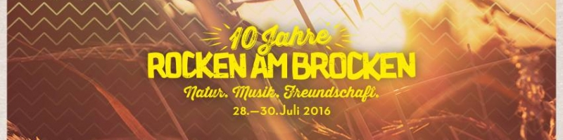 Rocken am Brocken: Tickets ab Montag