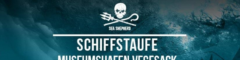 Sea Shepherd-Schiffstaufe mit Jupiter Jones