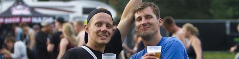 Die Taschen- und Getränkeregelung auf dem Hurricane Festival