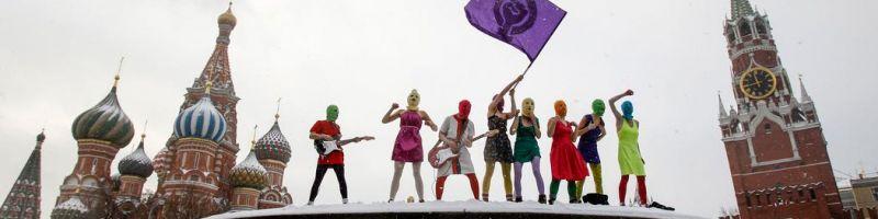 Guerilla-Punk-Rock-Aufführung