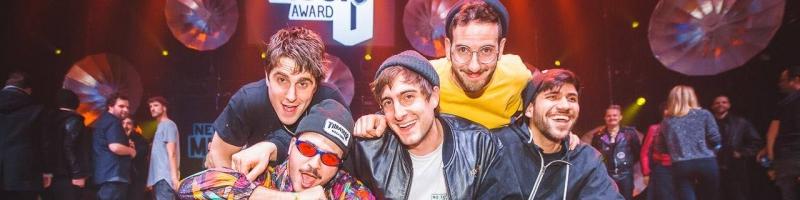 Leoniden gewinnen den New Music Award 2017