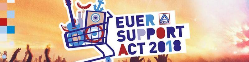 Deichbrand verkündet Support Act 2018