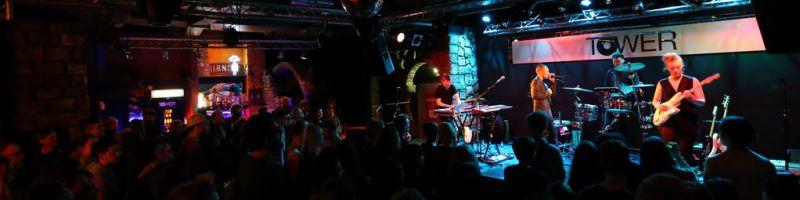 Vök im Tower Musikclub