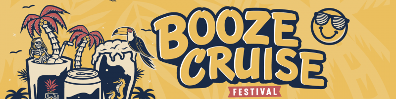 Booze Cruise komplettiert Line-Up