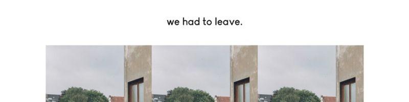 We Had To Leave : berauschender Indiepop