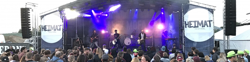 Erste Bands für's Heimat Festival