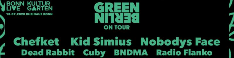 Green Berlin On Tour