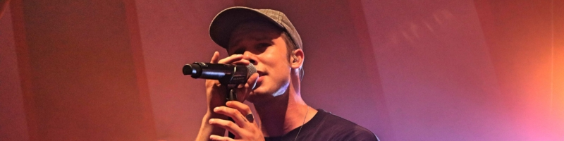 Dänischer Popstar im Lagerhaus