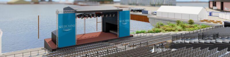Eine Seebühne für Bremen