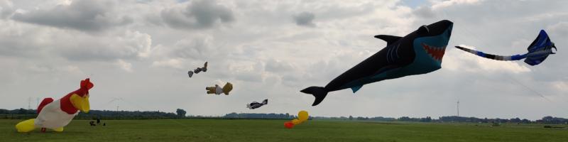 Drachenflieger, Fischbrötchen und Straßenmusiker